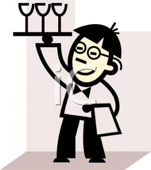 Bar, nightclub server