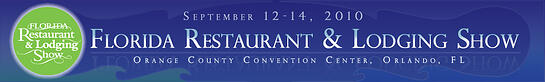 Florida restaurant and lodging banner