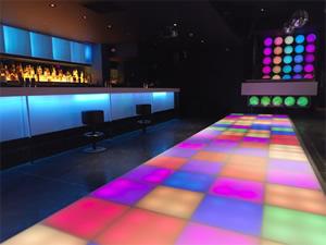 DMX Lighting in Nightclub